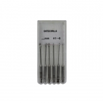 Gates Glidden Drills Stainless Steel 28 mm, 6 drills per verpakking