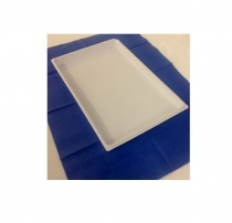 Disposable trays, zonder indeling, 28x18 cm, 400st